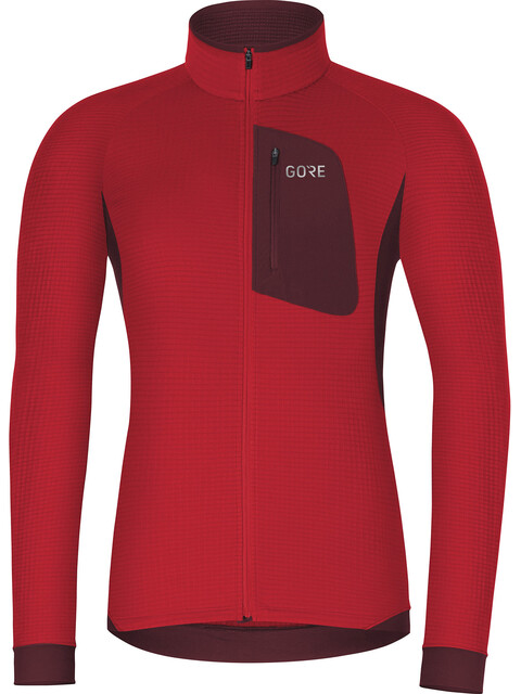 GORE WEAR Thermo - Maillot manches longues Homme - rouge